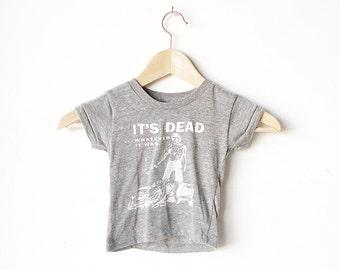 kid's It's DEAD whatever it was vintage film shirt