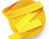 "2"" Egg York Yellow Stretch Elastic Band"