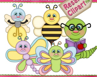 Spring Bugs 13 Clipart (Digital Download PNG)