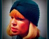 T240 Turban Knitting Pattern Vintage PDF