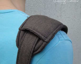 Shoulder PAD - 1 piece / Super PADDED 8 mm for carrying comfort - Customizable as color fabric