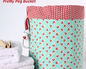 Pretty Peg Bucket PDF Sewing Pattern