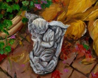 Angel in Autumn