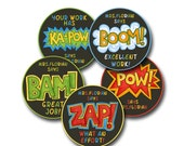COMIC STRIP Personalized stickers for Teachers