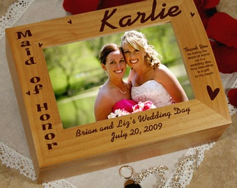 Maid of Honor Photo Keepsake Box -gfy726926