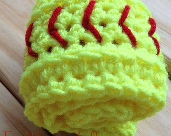 Crochet Softball or Baseball Earwarmer Headband