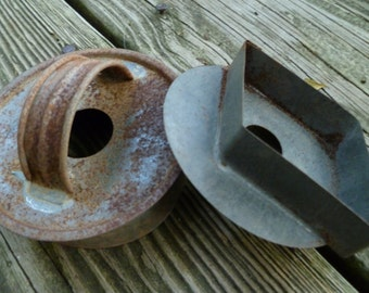 Biscuit cutter and cookie cutter, vintage