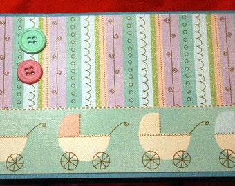 Baby Carriage Card  20130284