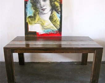 Beautiful Reclaimed Wood Dining Table. Made in Downtown Los Angeles