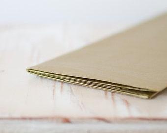 Metallic Gold Tissue Paper - 8 sheets