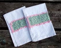 Fresh Flowers Tea Towel Set of 2