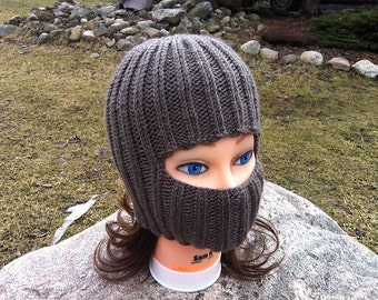 Knit Fold-Down Hat (Pattern)