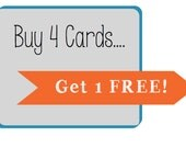 Buy 4 Cards, Get 1 FREE