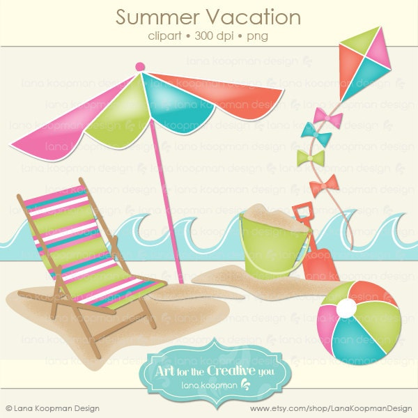 summer vacation clipart - photo #27