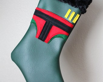 Boba Fett Star Wars Stocking