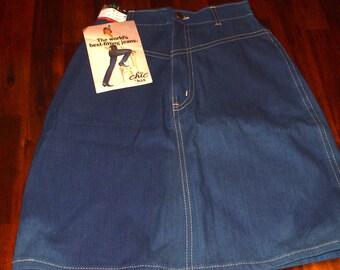 Chic Denim Skirt Size 3- Deadstock