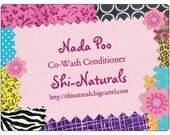 Nada-Poo Co-wash Conditioner