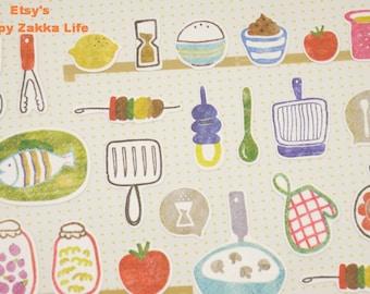 Kitchen - Sonia Stickers - Paper Deco Sticker - 1 Sheet