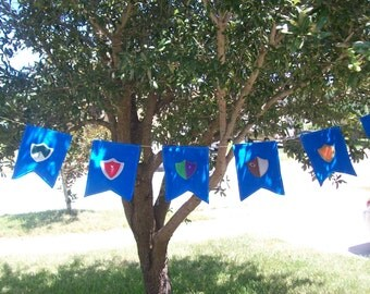 Knights and princess themed Felt party Banner/party decor