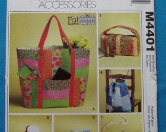 Fat Quarter Projects! Tote Bag, Backpack, Cosmetic Bag, Glasses Case, Wallet and Slippers