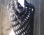 Easy Crochet Pattern, Crochet Poncho Pattern