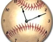 SPORTS Clock personalized Nursery wall art - choose one baseball, basketball, football, soccer