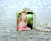 Custom Photo Necklace - Personalized Picture Jewelry - Photo Pendant Jewelry - Custom Photo Charm Keepsake for Mom Mothers Day Mimi Nana