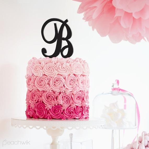 Wedding Cake Topper Letter G