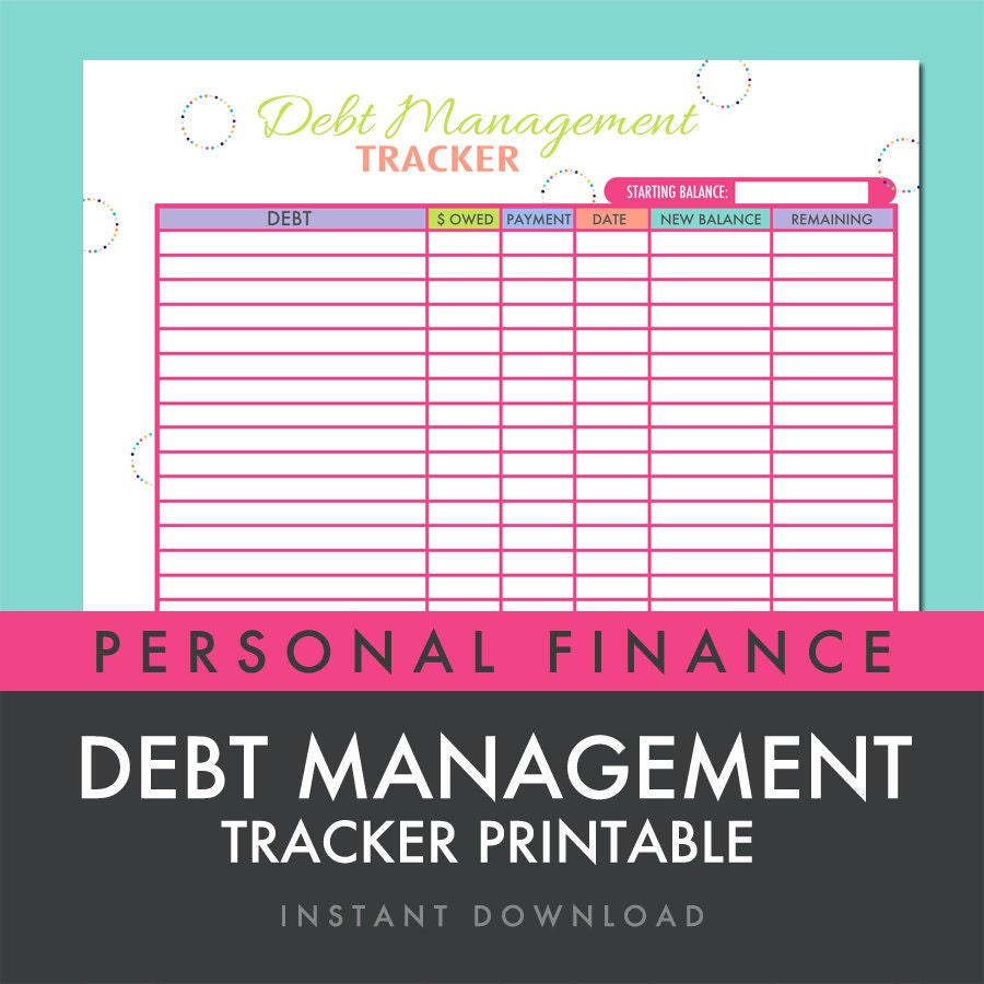 Pay off debt – Snowball Debt Worksheet