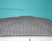 BLACK & WHITE HOUNDSTOOTH Cricut Expression 2 Cover, Supplies, Handmade