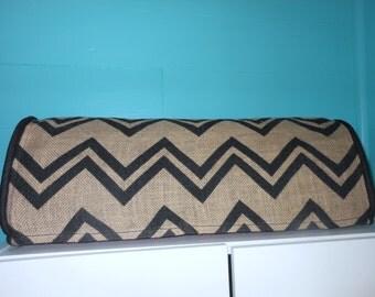 BURLAP CHEVRON Cricut Expression Dust Cover, Scrapbooking, Cozies, Home Decor