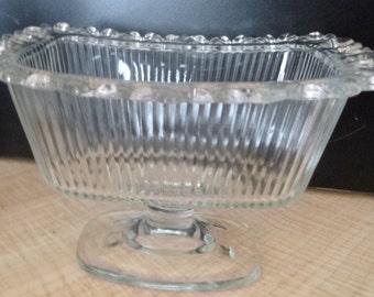Beautiful Vintage Glass Bowl