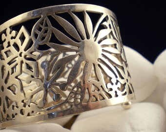 """Solid Sterling Silver Bracelet - """"Spring"""""""