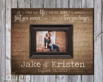 Love Quote Picture Frames Beauteous Personalized Picture Frame With Family Name & Quote Family