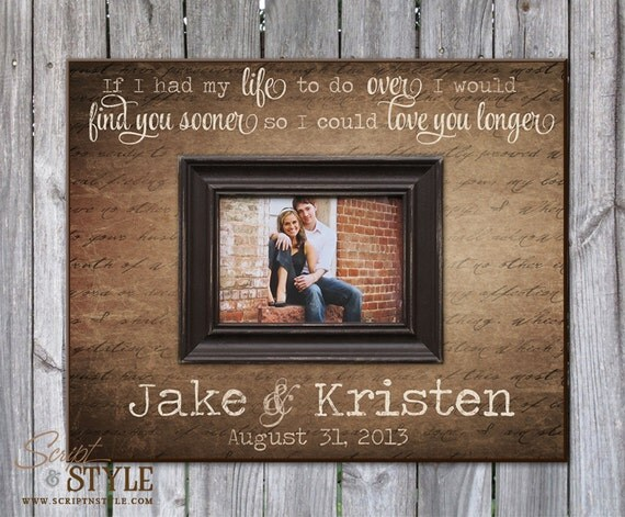Personalized Picture Frame With Family Name Quote Family: Items Similar To Personalized Picture Frame With Names And