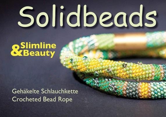 Slimline & Beauty - Crochet Necklace Pattern - Booklet