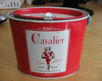 1940s Cavalier Cigarettes Tin....