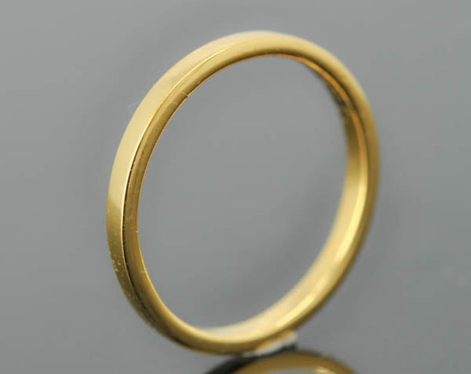 14K yellow gold ring, 1mm x 1mm, wedding band, wedding ring, flat, mens wedding ring, mens wedding band, size up to 6