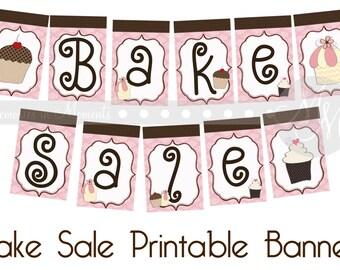 Bake Sale Printable Banner