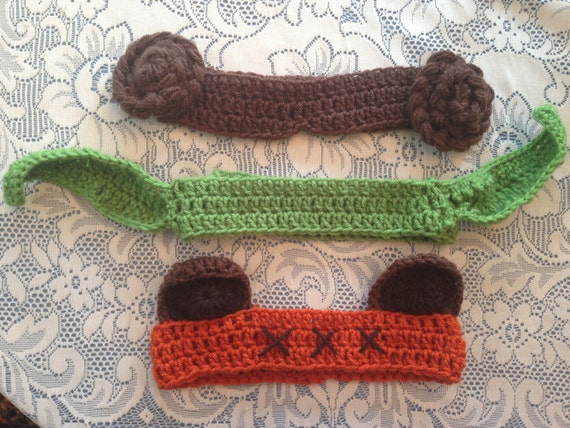 3-Pack of Star Wars Winter Headbands Earwarmers