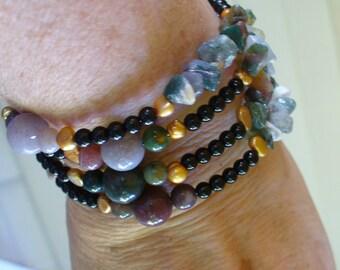 A Coil Bracelet