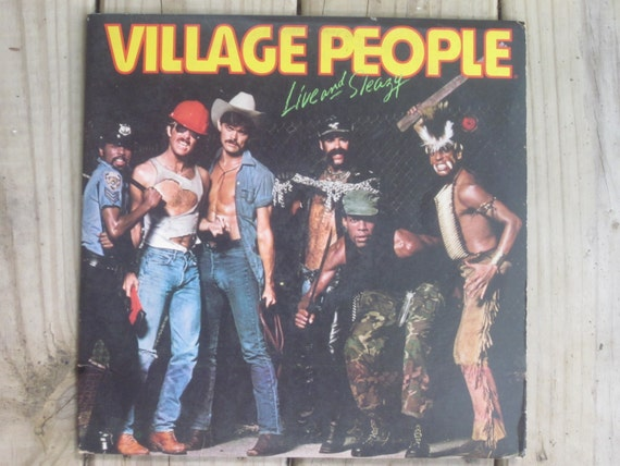 Items Similar To Village People Live And Sleazy 1979