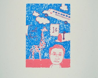 In the Mind of a Child Limited Edition Screenprint