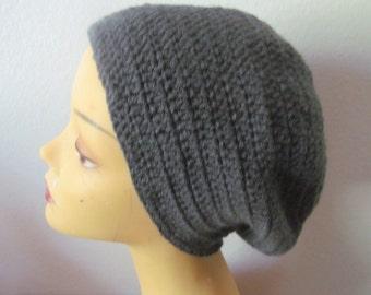 Crocheted mens  Beanie Hat, Usa Seller