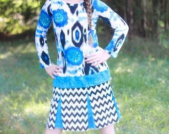 Ashli's Tween Pleated School Girl Dress PDF Pattern Sizes 7/8 to 15/16