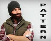 Crochet Beard Pattern - Adult Size. Instant Download.