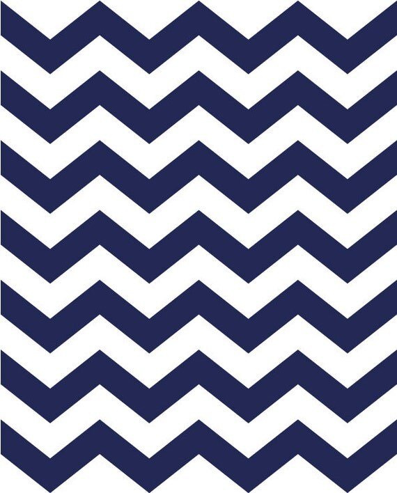 Items Similar To Boy Nursery Print Navy Blue And White