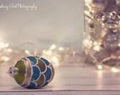 Christmas photography home decor lights holiday photo dreamy white silver blue green gold glitter bokeh ornaments fine art photo wall art