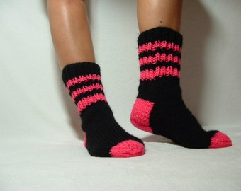 Soft Warm Adult Size Socks Custome color of the yarn