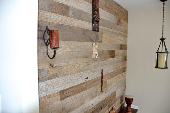 Reclaimed Barnwood Shiplap Lumber Wood Board Siding